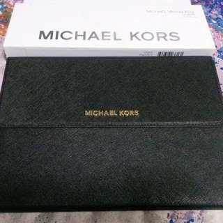 MICHAEL KORS iPad Air 2 Clutch Cover and Stand, Black