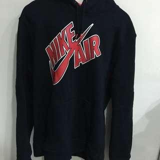 Nike Air 黑紅帽T
