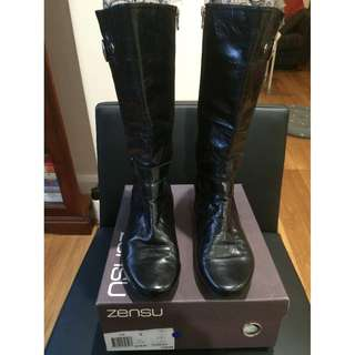 boots black - ladies