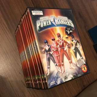 Mighty Morphin Power Rangers Season 1 DVD