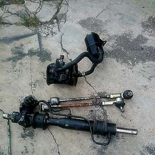 Saga Iswara Power Steering Rack With Vr4 Steering Pump Suitable For Saga Iswara With 4g6x Setup