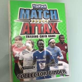 Match Attax Premier League 2010 / 2011