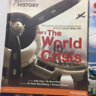 Urgent: All About History: The World In Crisis