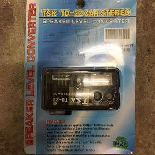 Speaker Level Converter