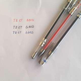 Test Good Gel Pens