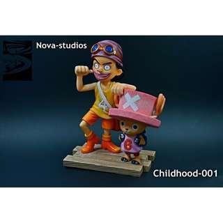 [PO] One Piece Nova Studios Childhood 001 Usopp and Chopper Resin Figure