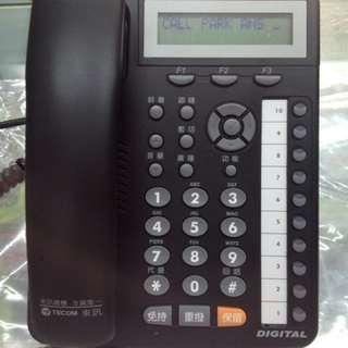 Since1995--東訊DX-9910E 10keys顯示話機--