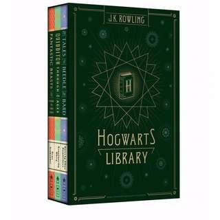 Hogwarts Library by J. K. Rowling