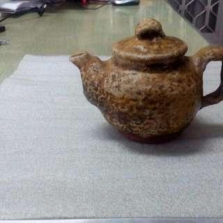 鄭水圳老師,柴燒茶壺