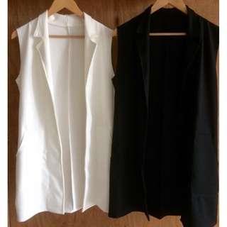 Black & White Vest