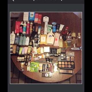 Makeup/Haircare/skincare/fragrances