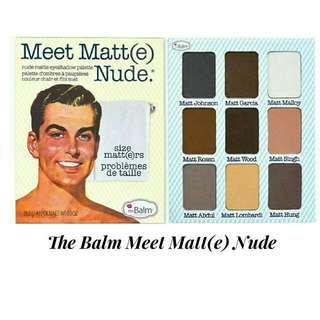The Balm Meet Matt(e) Nude