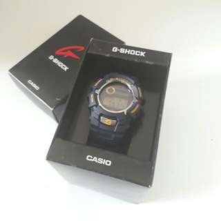 JUAL Casio G-Shock G2310 Tough Solar Blue Watch Digital Ori Asli 100%
