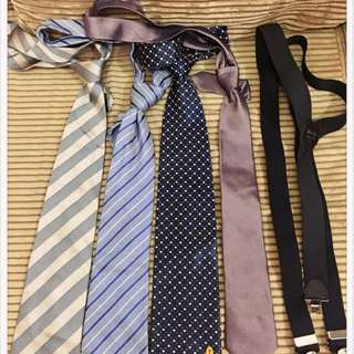 YSL & Other Ties