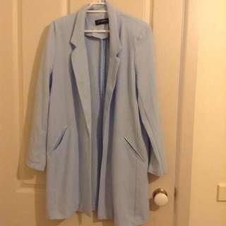 Blue Coat Cardigan