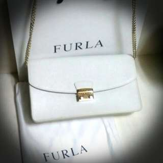 Authentic & Brand New Furla Double Purpose Bag