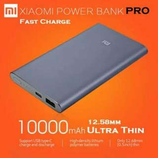 10000 Pro Slim Authentic Xiaomi Powerbank. Flash Sale.