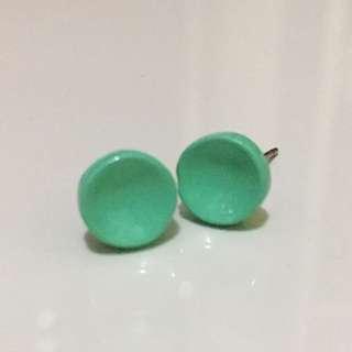 Anting Circle Turquoise
