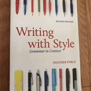 Writing With Style Textbook