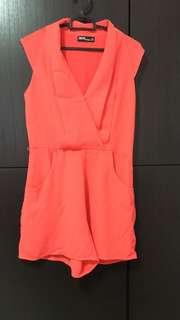 Priced Reduced! - ASOS Orange Jumpsuit