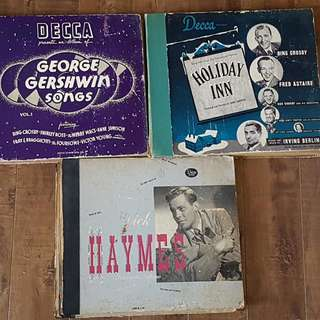 Lot Of Vintage Decca Records Holiday INN, Gershwin, Dick Haymes