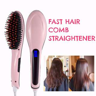 Fast Hair Comb Straightener (LIMITED SETS ONLY)