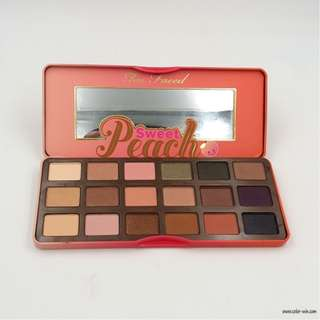 two faced sweet peach palette