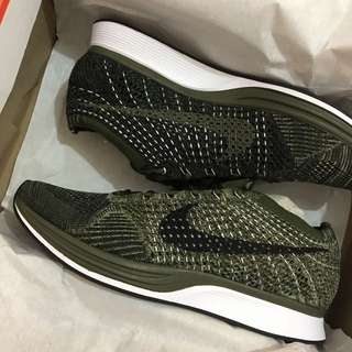 Nike Flyknit Unisex Rough Green