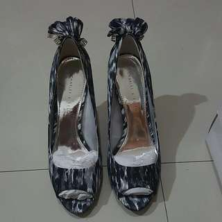 Charles & Keith Marble Shoes