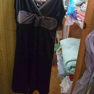 黑色背心洋裝 #100元洋裝