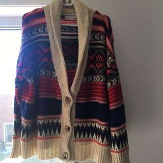 Boho Lazy Sweater!
