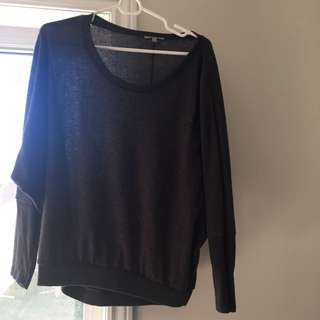 Charlotte Russe Soft Fleece Shirt.