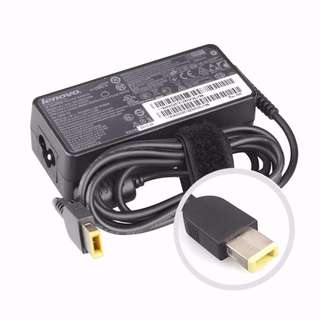Genuine Lenovo 65W 20V Charger Laptop AC Adaptor Slim Flat Tip ThinkPad T460s with 3 pin cord