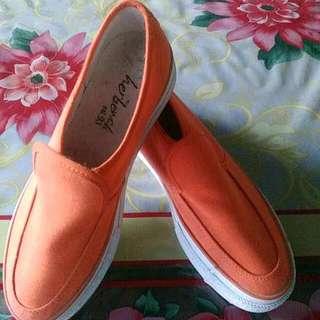 Herbench orange Shoes