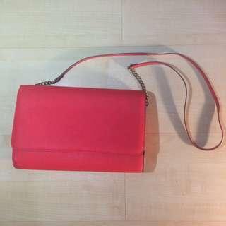 H&m Bright Red Sling Bag