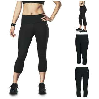 ADIDAS 3/4 Mid-rise Leggings