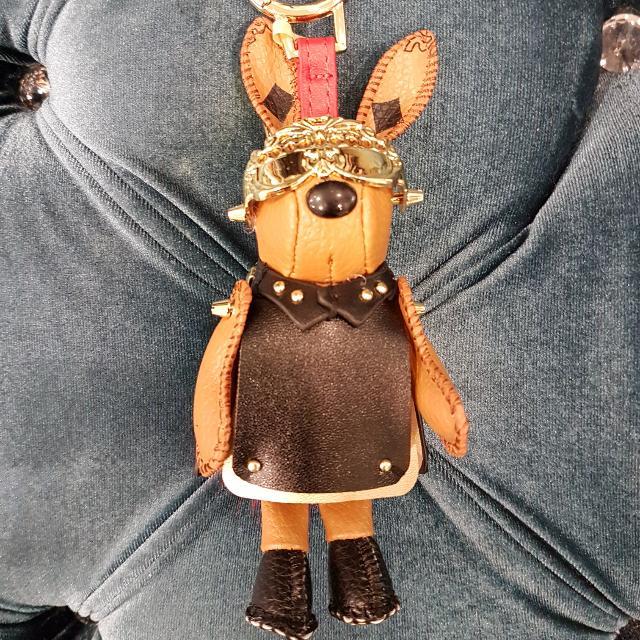 全新韓國空運龐克兔子吊飾