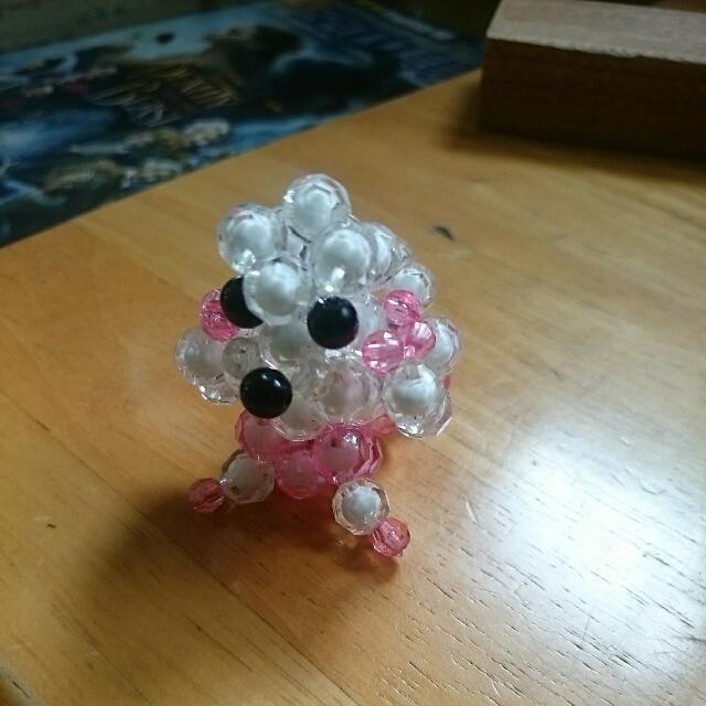 粉紅小貴賓狗