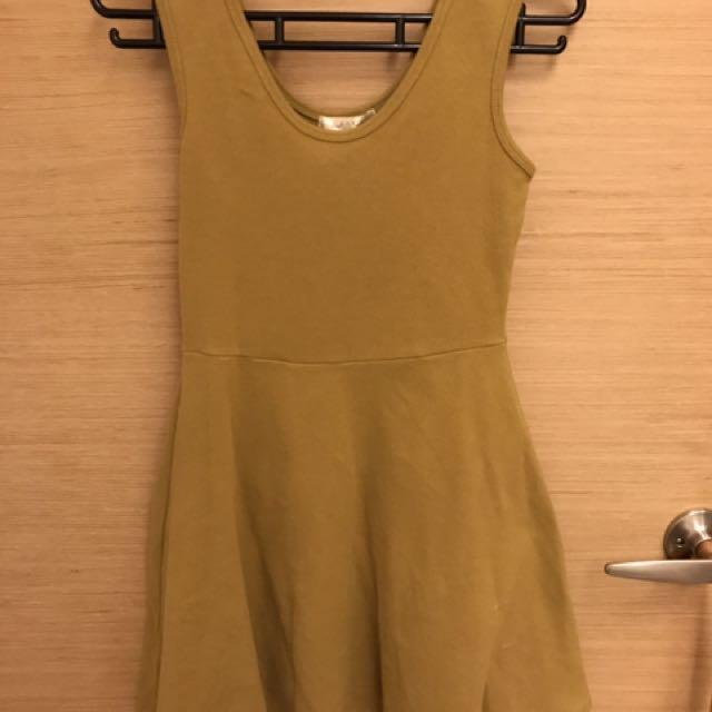 🌻無袖連身散狀裙