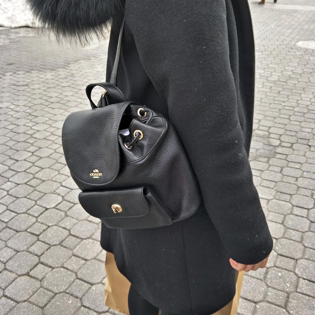 [現貨在台] Coach荔枝皮 超可愛 後背包