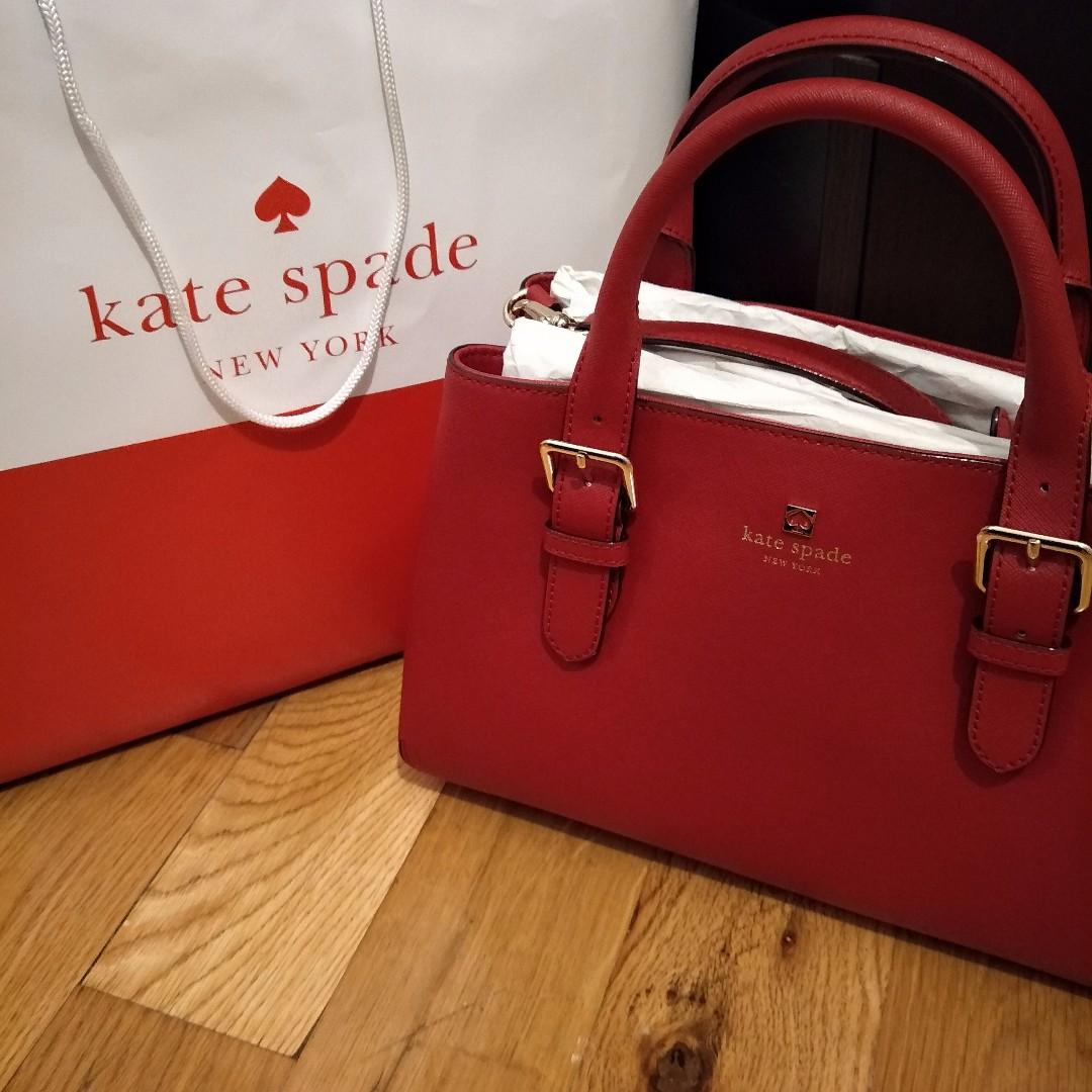 [現貨在台] Kate Spade (附背帶)手提包