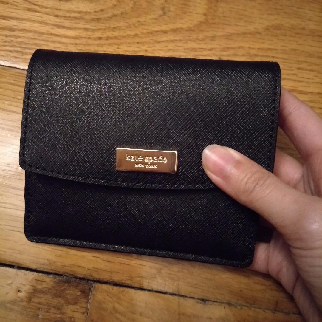 [現貨在台] Kate Spade 零錢包(黑色)
