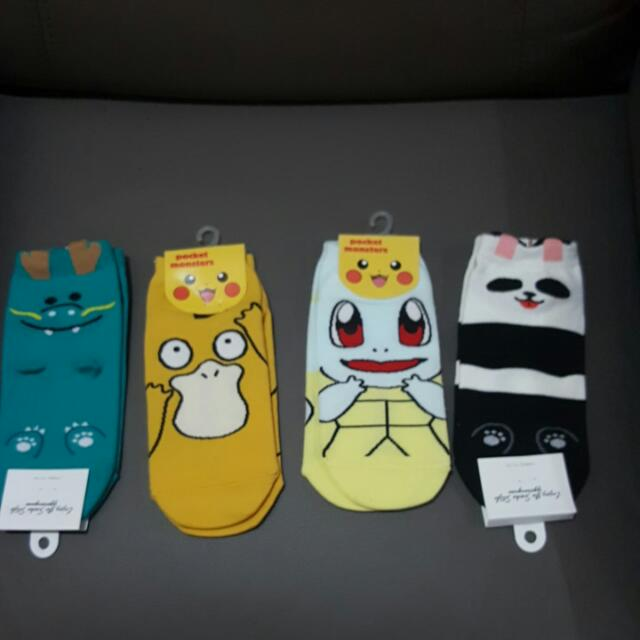ADORABLE SOCKS with Movie/anime Characters!