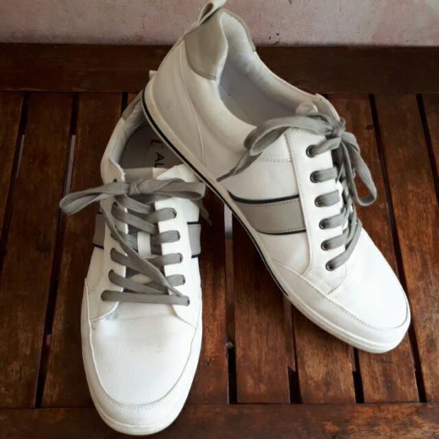 Aldo White Shoes Size 12