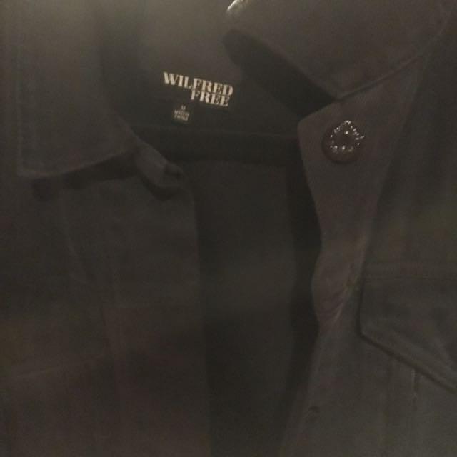 Aritzia Wilfred Free Denim Jacket