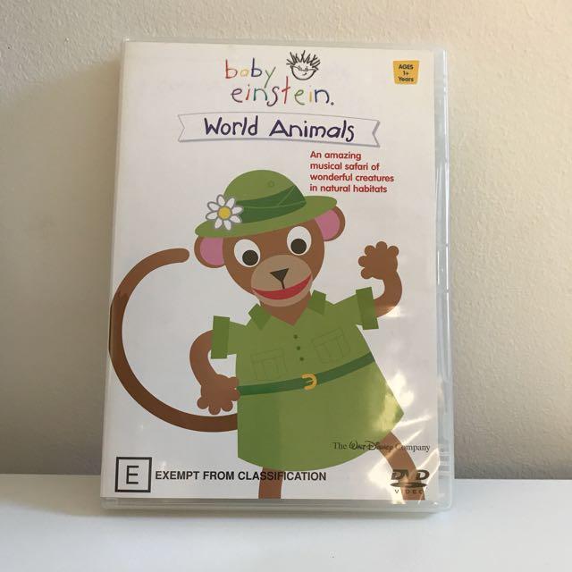 Baby Einstein World Of Animals DVD