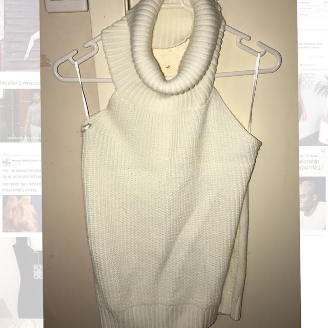 Backless Knitted Top