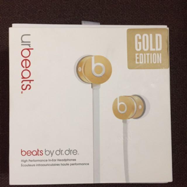 Beats Golden Edition 耳塞式 耳機 降價~