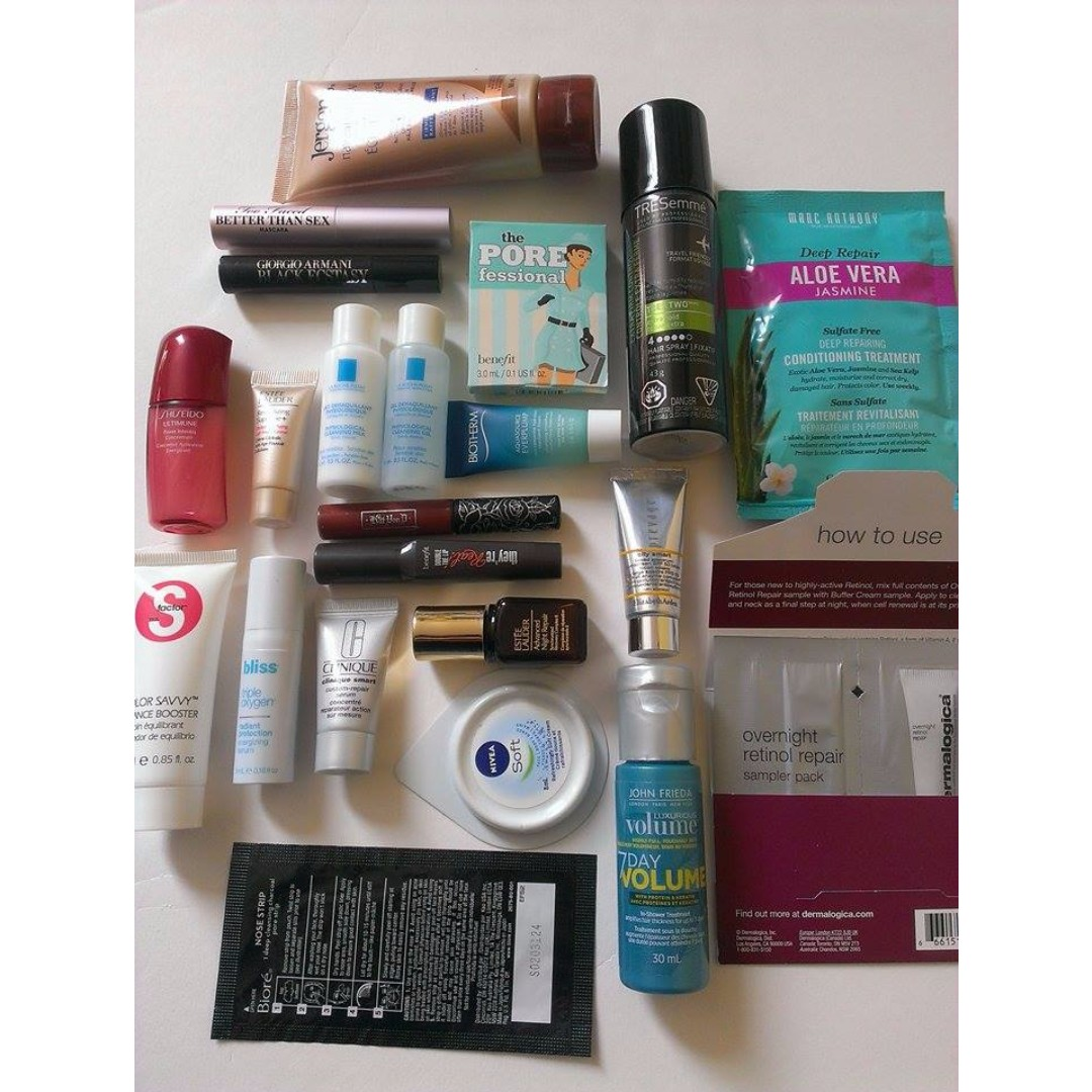 Beauty Samples - FREE WITH PURCHASE