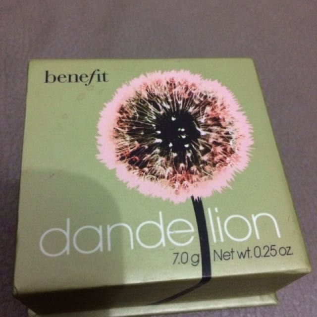 Benefit Dandelion Brightening Finishing Powder